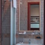 Un particolare dei bagni